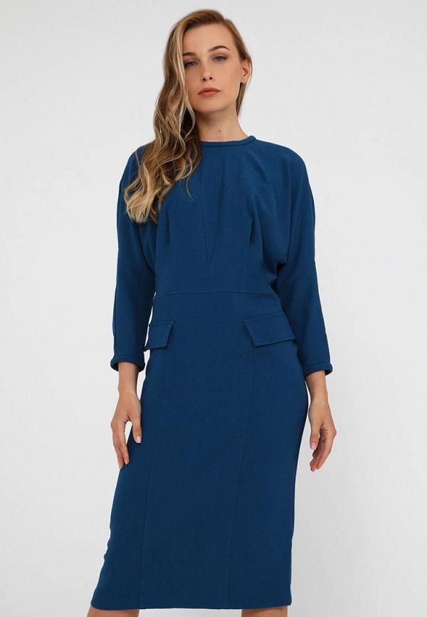 женское платье мадам т, синее