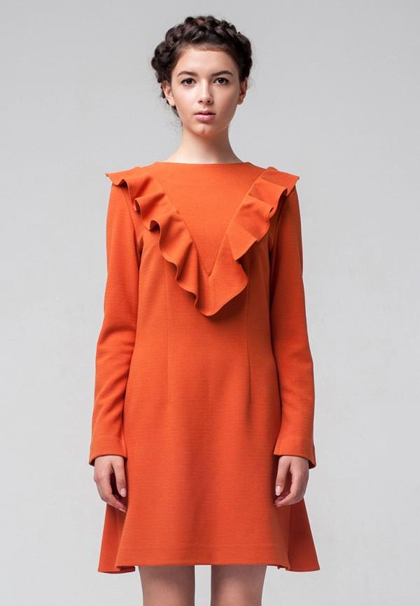 женское повседневные платье minimally, оранжевое