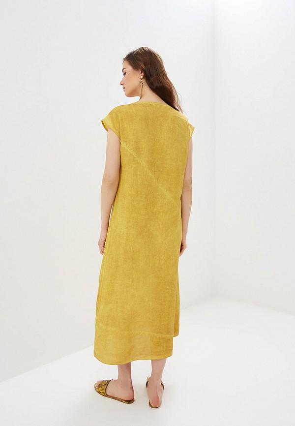 Платье Agenda цвет желтый  Фото 3