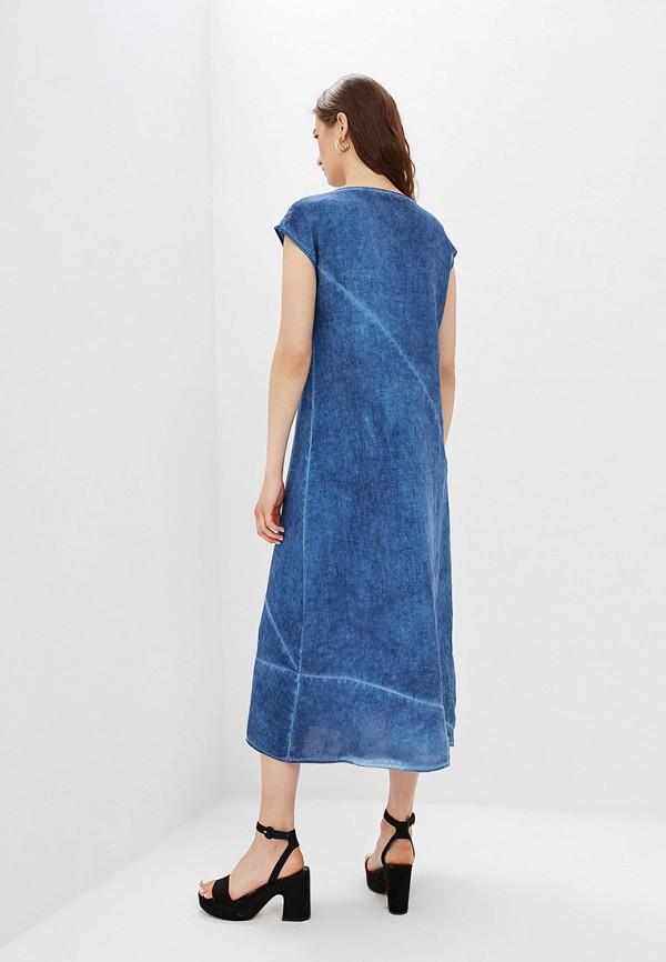 Платье Agenda цвет синий  Фото 3
