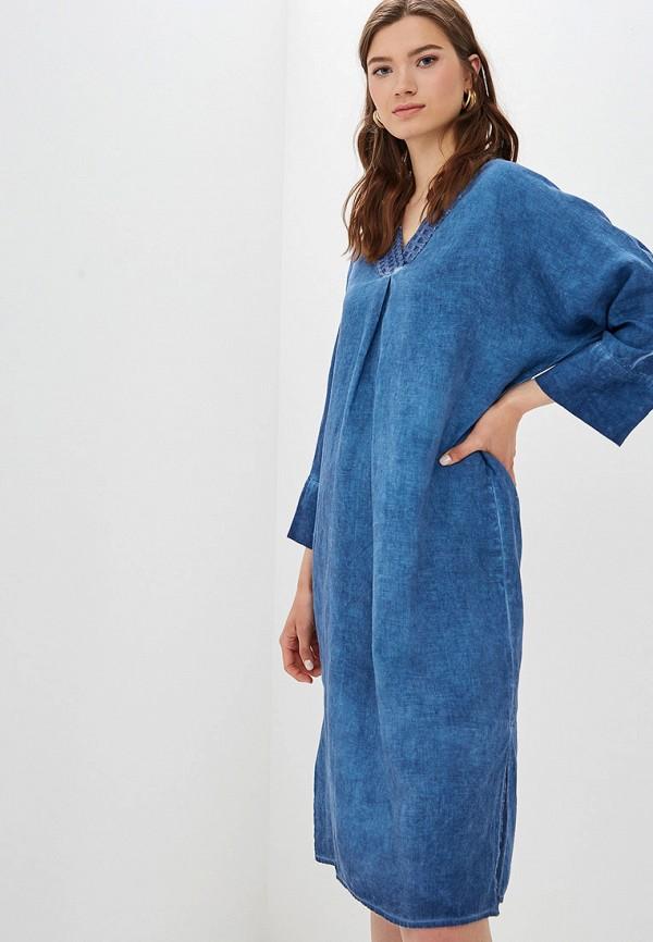 Платье Agenda цвет синий