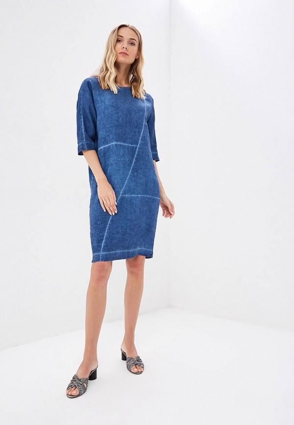 Платье Agenda цвет синий  Фото 2