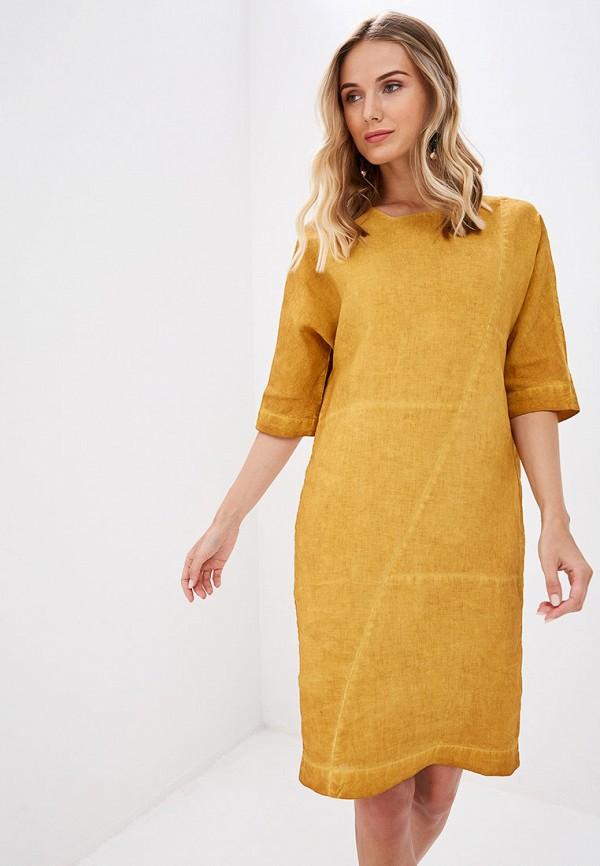Платье Agenda цвет желтый