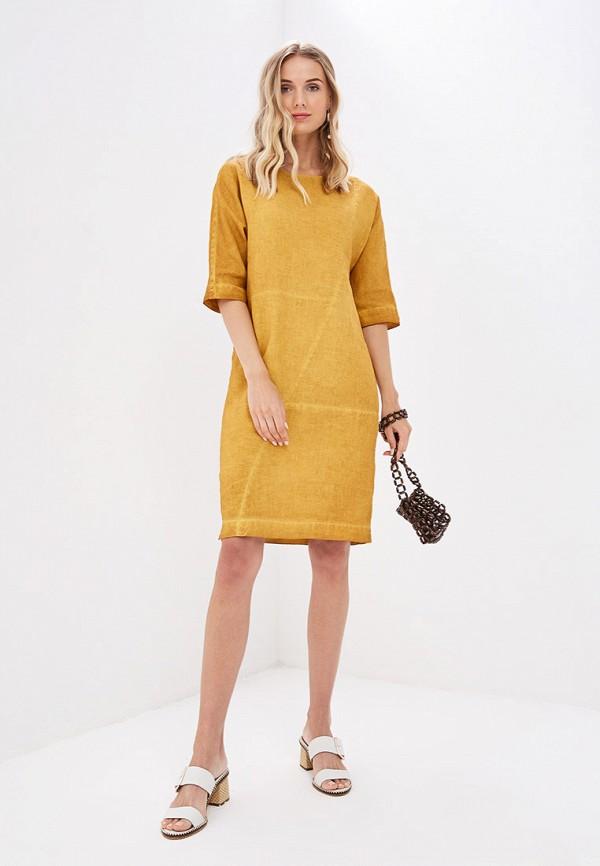 Платье Agenda цвет желтый  Фото 2