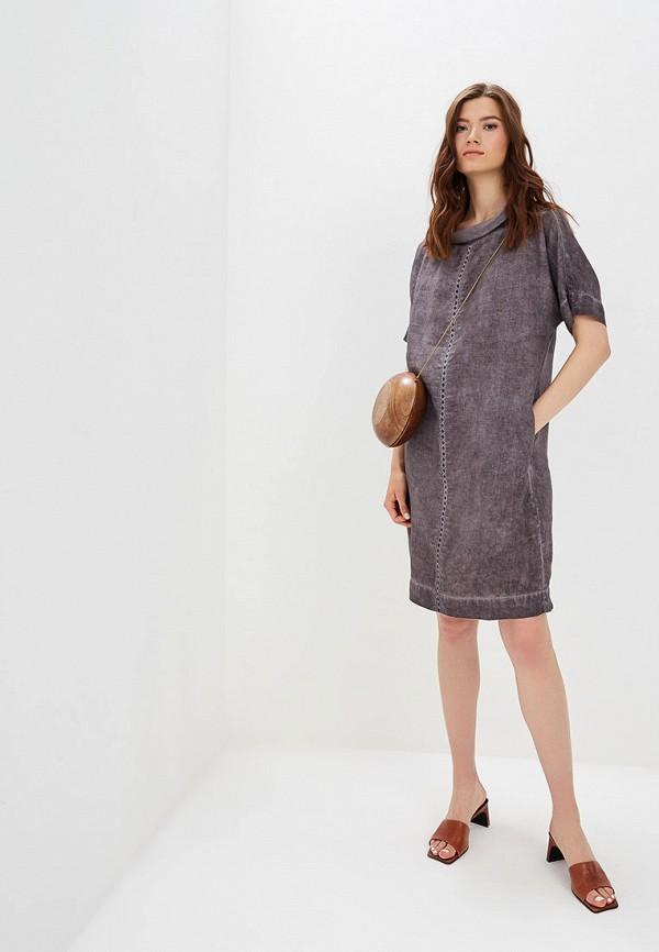 Платье Agenda цвет коричневый  Фото 2