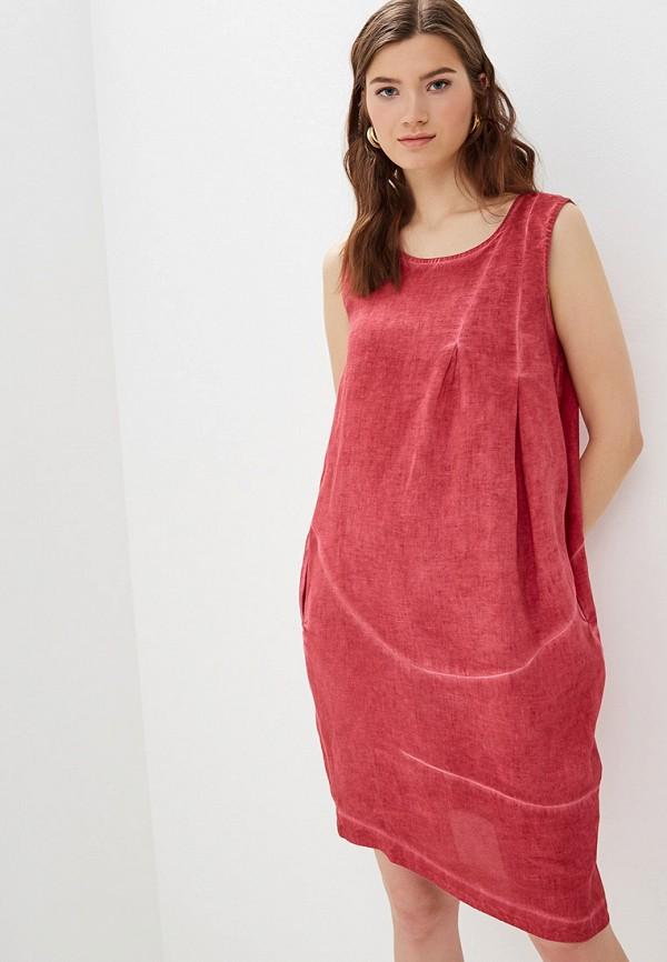 Платье Agenda цвет бордовый