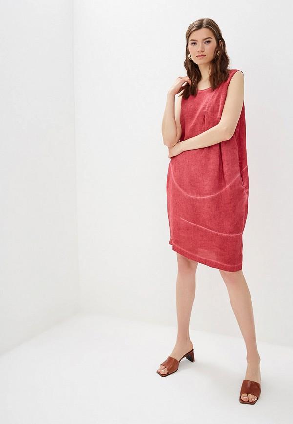 Платье Agenda цвет бордовый  Фото 2