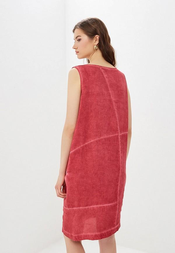Платье Agenda цвет бордовый  Фото 3