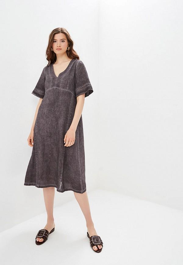 Платье Agenda цвет серый
