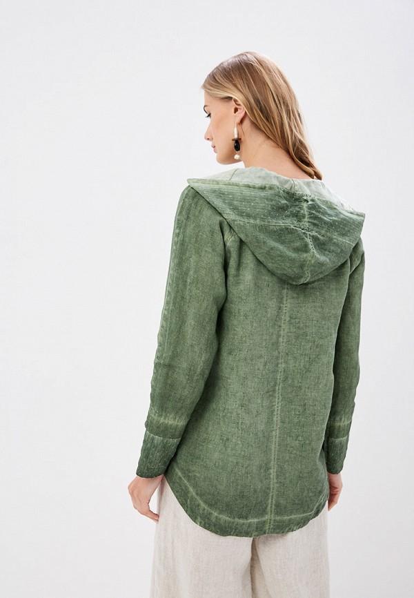 Блуза Agenda цвет зеленый  Фото 3