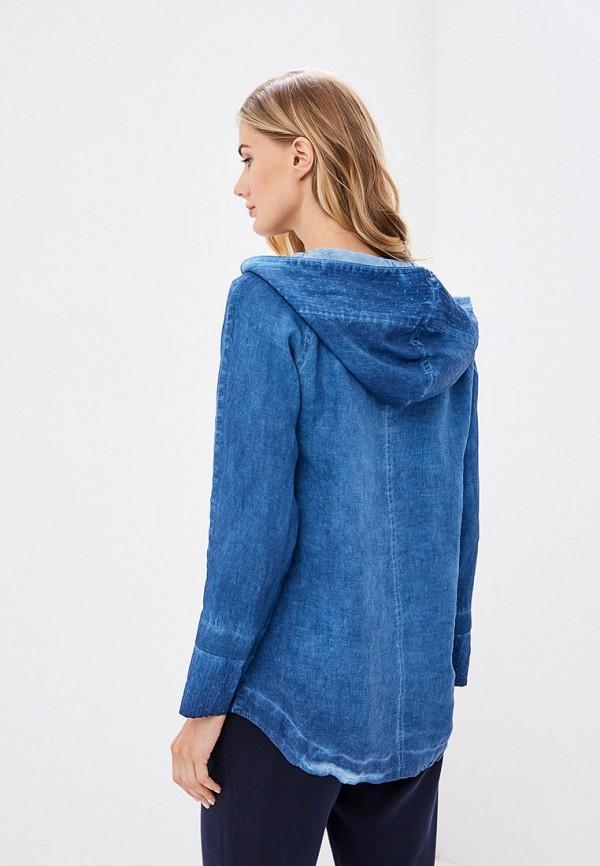 Блуза Agenda цвет синий  Фото 3