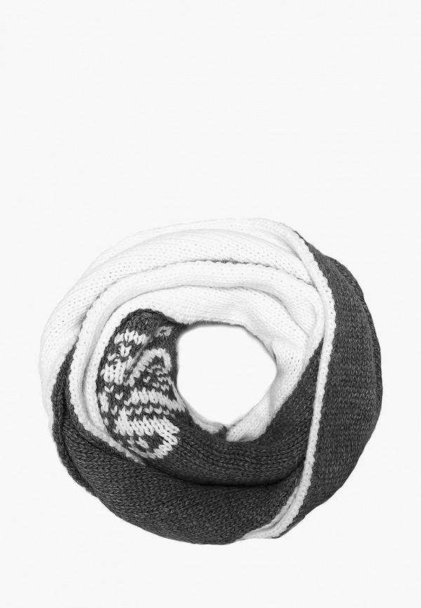 Купить Шарф Finn Flare, MP002XW1F5K9, серый, Осень-зима 2017/2018