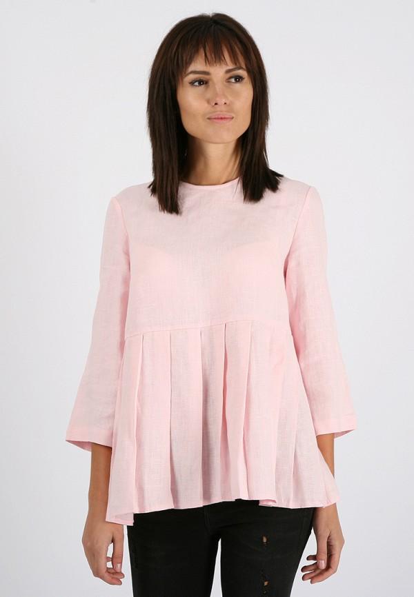 женская блузка morandi, розовая