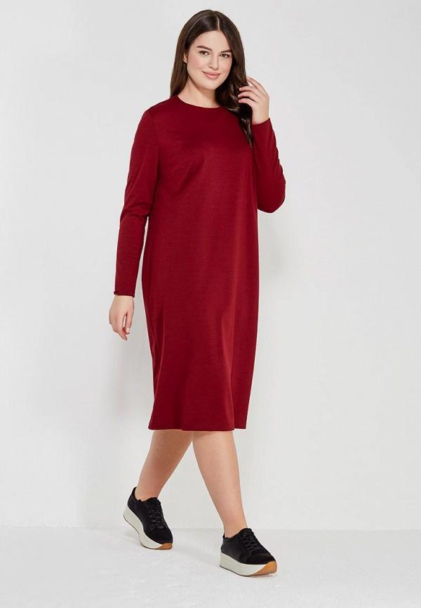 Купить Платье XLady, mp002xw1f5qp, бордовый, Осень-зима 2017/2018