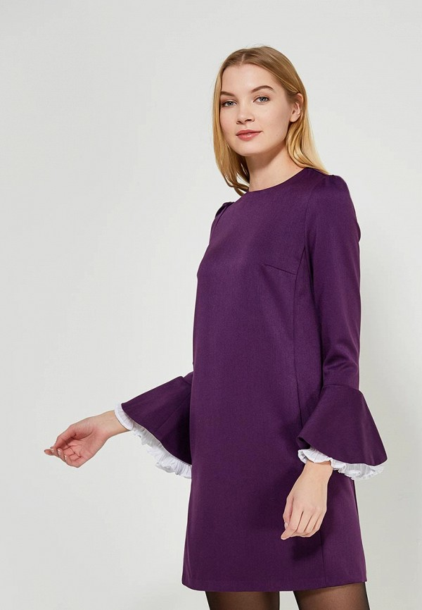 Платье Lezzarine, MP002XW1F5U5, фиолетовый, Осень-зима 2017/2018  - купить со скидкой