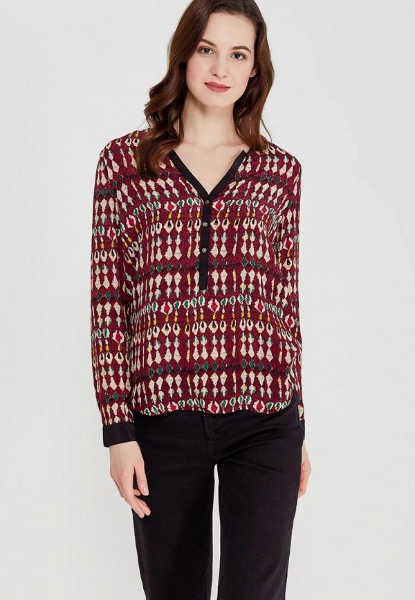 Купить Блуза Sack's, MP002XW1F60N, бордовый, OUTLET