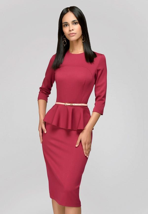 Купить Платье 1001dress, MP002XW1F6N4, бордовый, Осень-зима 2017/2018