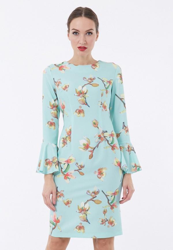 Купить Платье Vladi Collection, MP002XW1F6OI, бирюзовый, Осень-зима 2017/2018