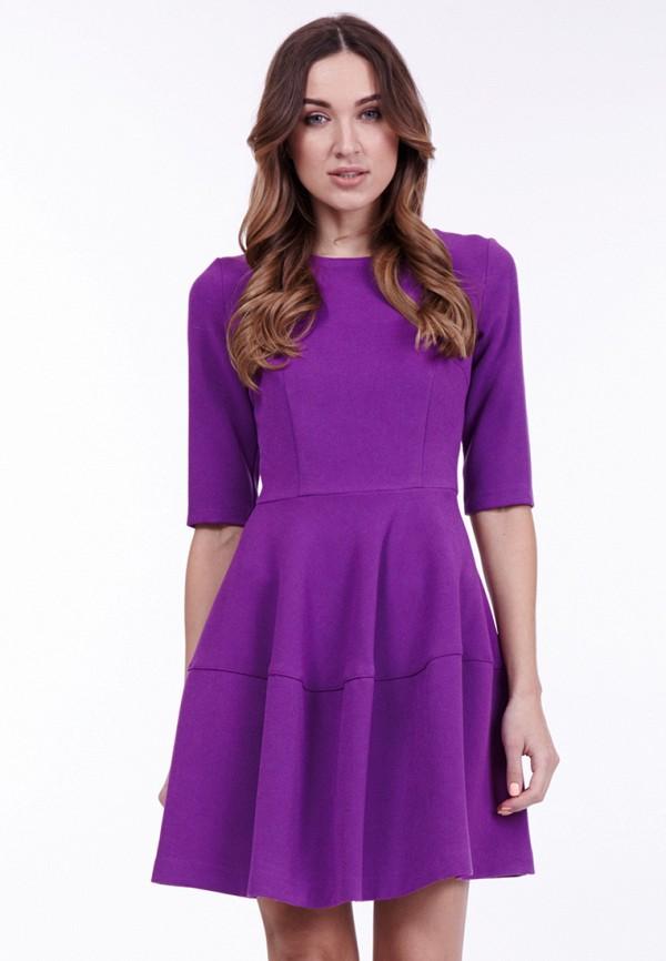 женское повседневные платье vladi collection, фиолетовое