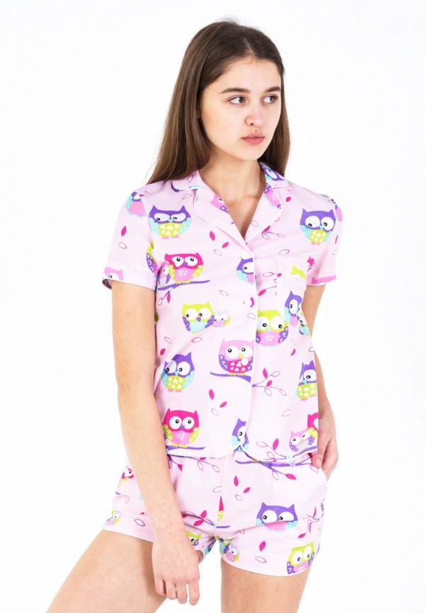 Купить Пижама Nostalgy, mp002xw1f6z0, розовый, Осень-зима 2017/2018
