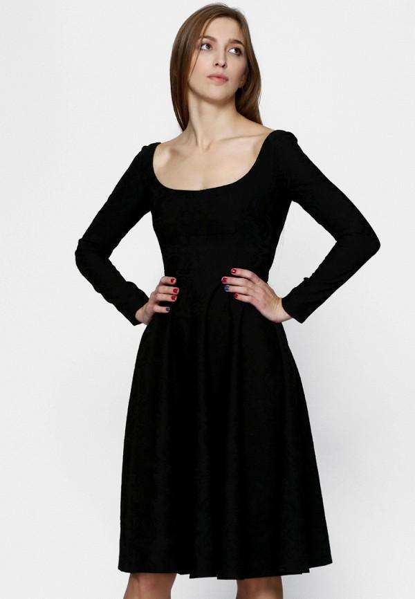 женское платье ornato, черное