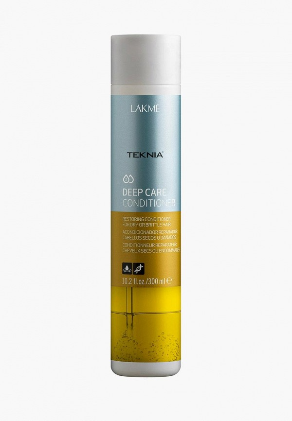 Кондиционер для волос Lakme, Teknia Deep Care Conditioner, MP002XW1F7WP, голубой  - купить со скидкой