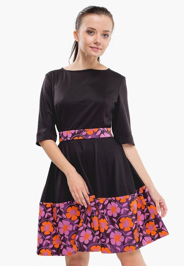 женское вечерние платье nai lu-na by anastasia ivanova, черное
