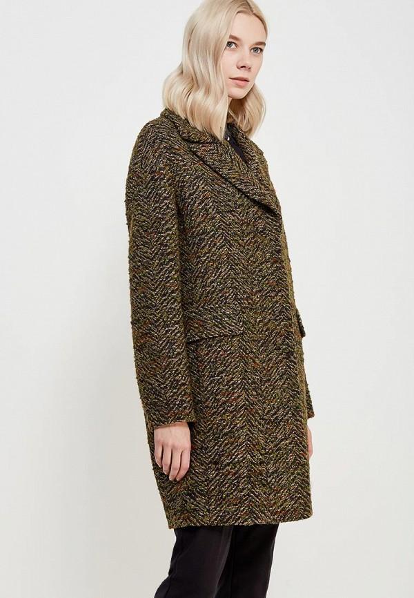Купить Пальто Azell'Ricca, mp002xw1f804, зеленый, Осень-зима 2018/2019