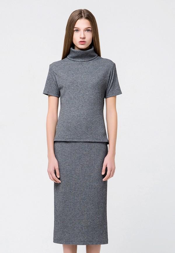 женский костюм minimally, серый