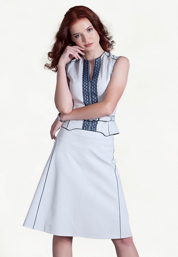 женский костюм strygina, серый