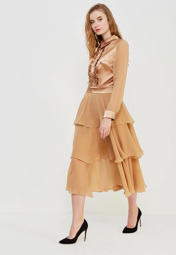 Купить Платье Alex Lu, JIOVANNA, mp002xw1f8wo, золотой, Осень-зима 2017/2018