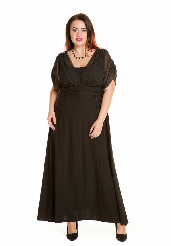 женское платье luxury plus, черное