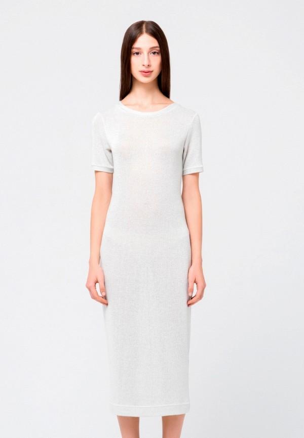 женское платье minimally, серебряное