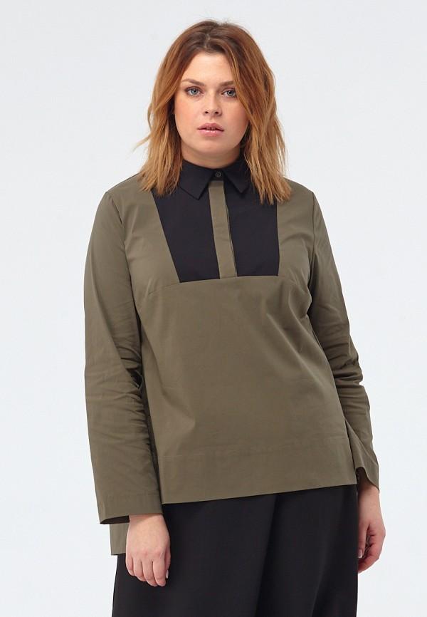 Купить Блуза W&B, MP002XW1F9KN, хаки, Осень-зима 2017/2018