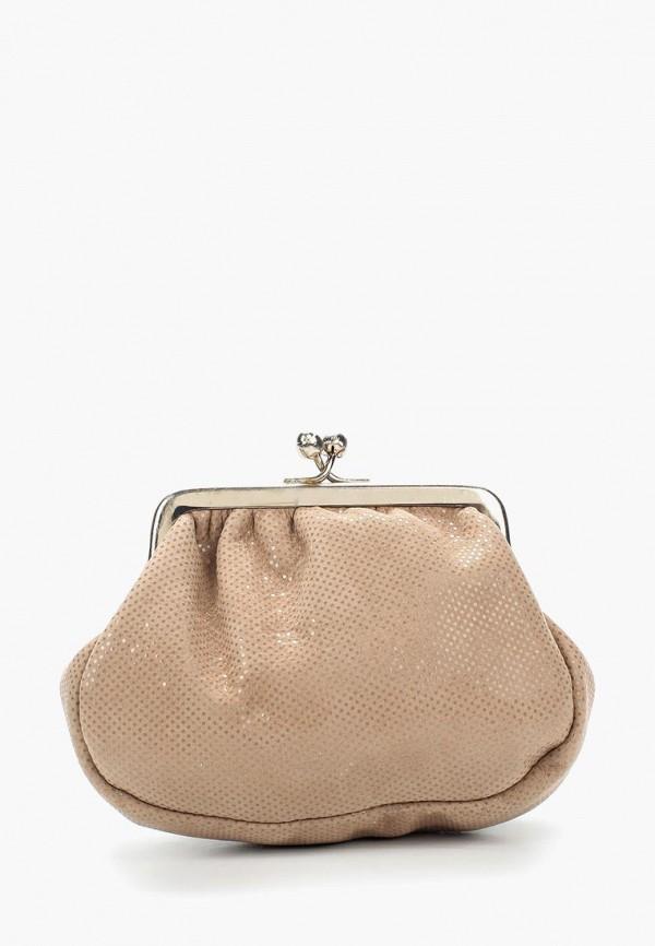 женский кошелёк d.angeny, бежевый