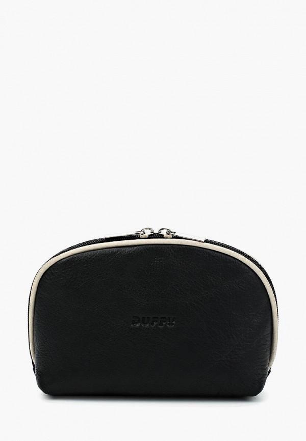 женская косметичка duffy, черная
