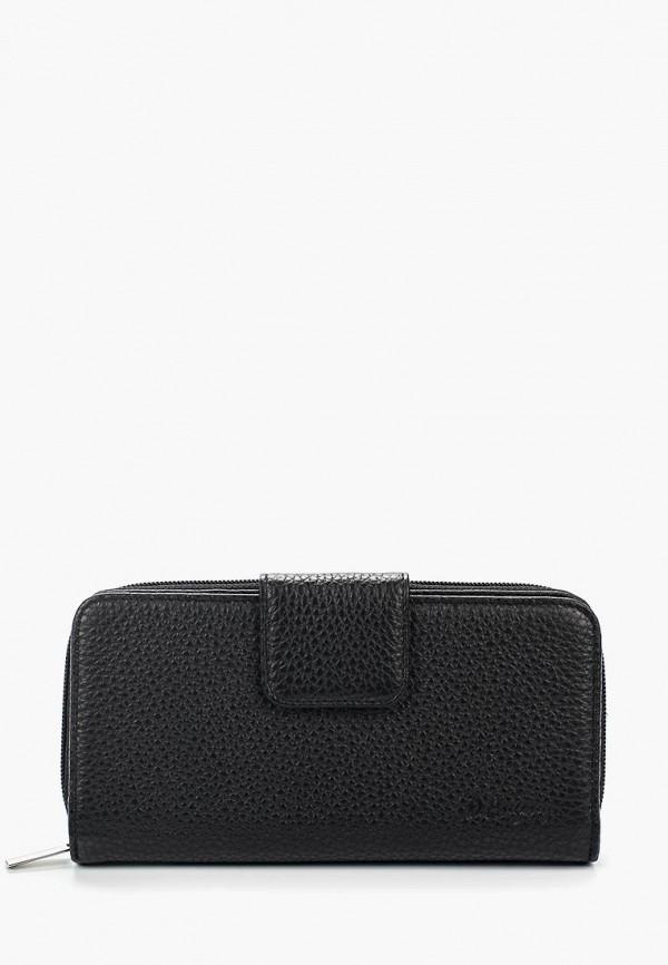 женский кошелёк d.angeny, черный