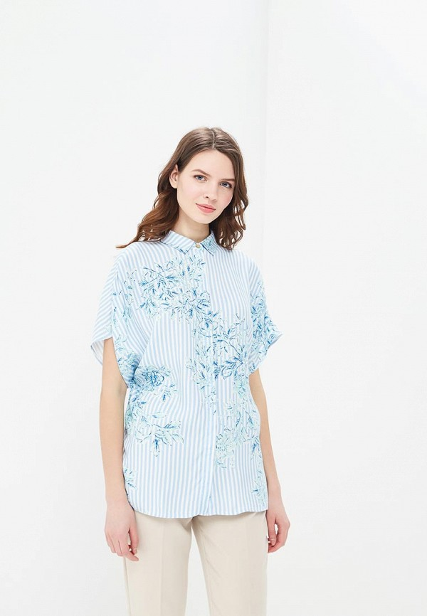 Купить Блуза Akhmadullina Dreams, MP002XW1G1JE, голубой, Весна-лето 2018