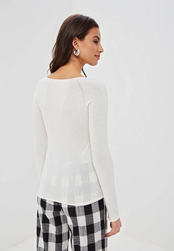 Фото 3 - Женский пуловер EMI белого цвета