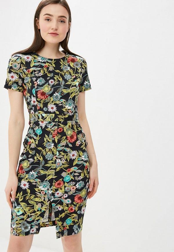 Платье Vittoria Vicci Vittoria Vicci MP002XW1G1RI полуприлегающее платье с длинными рукавами vittoria vicci
