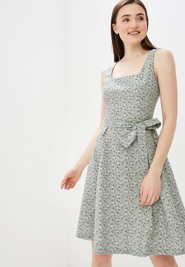 женское повседневные платье vittoria vicci, зеленое