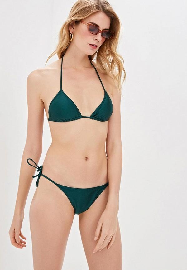 женский купальник luce del sole, зеленый