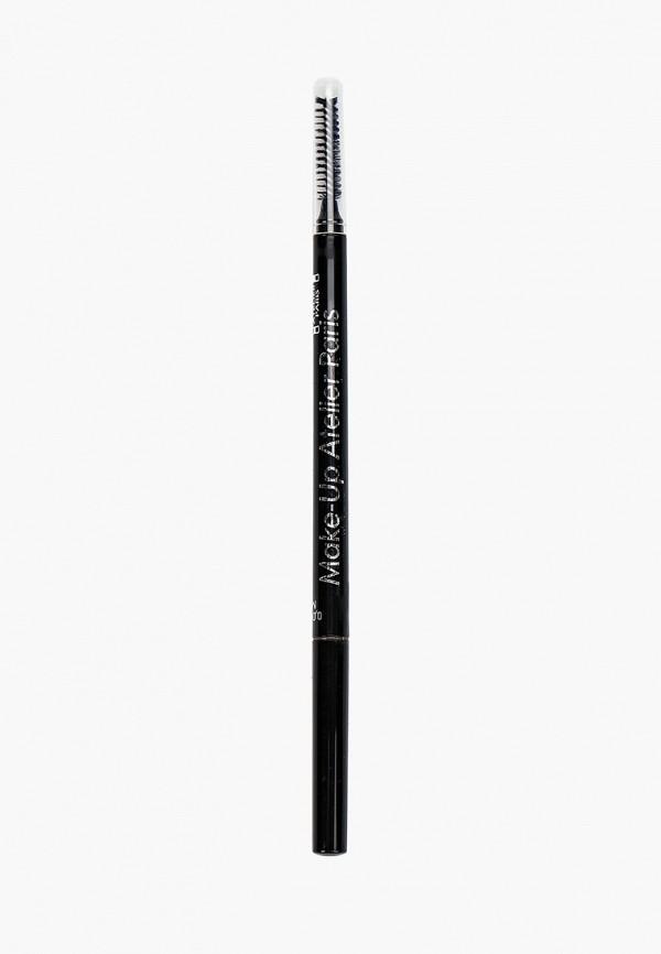 Карандаш для бровей Make-up Atelier Paris Make-up Atelier Paris MP002XW1G1UV карандаш фиксатор для бровей ninelle brow make up 409
