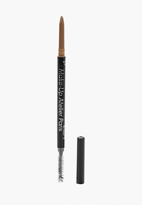 Карандаш для бровей Make-up Atelier Paris Make-up Atelier Paris MP002XW1G1UX цены онлайн