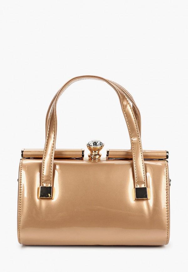 женская сумка с ручками flioraj, золотая