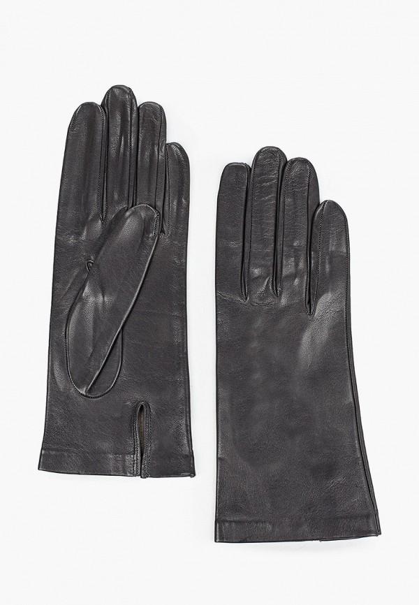 женские кожаные перчатки sermoneta gloves, серые