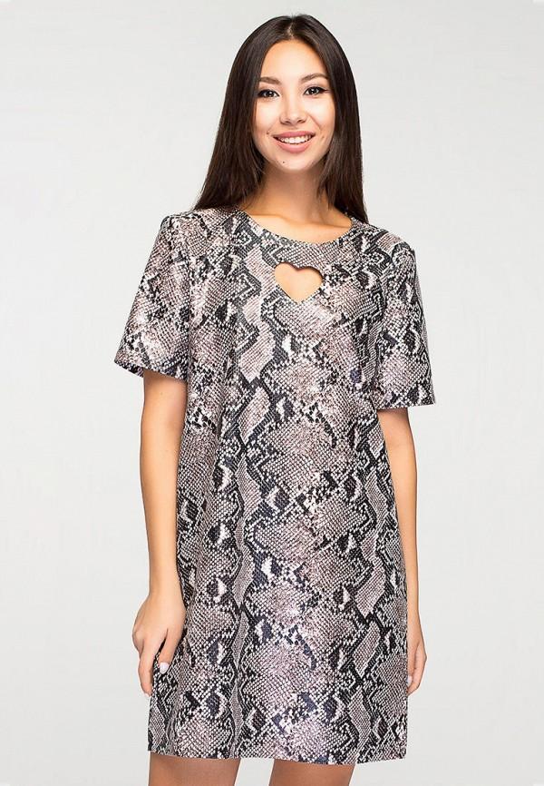 женское платье elena pokalitsina, серебряное