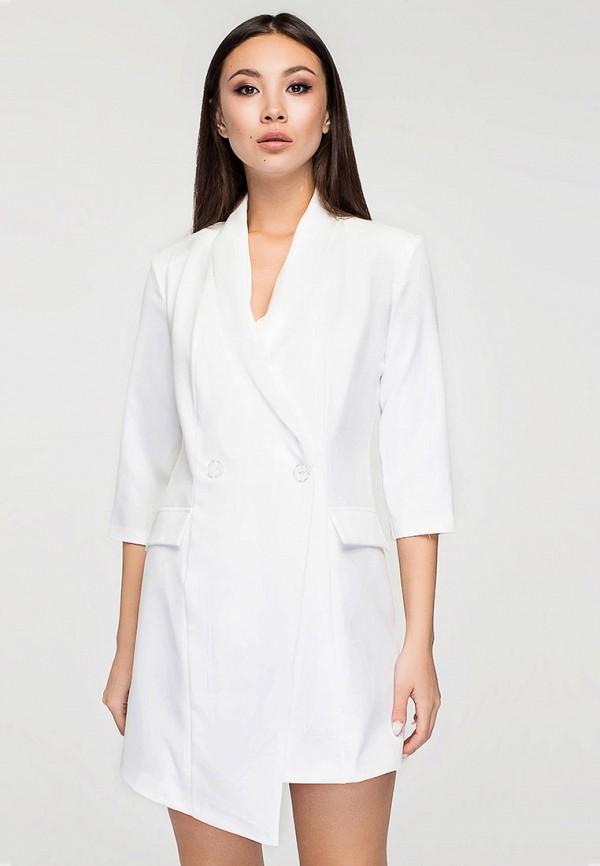 женское платье elena pokalitsina, белое