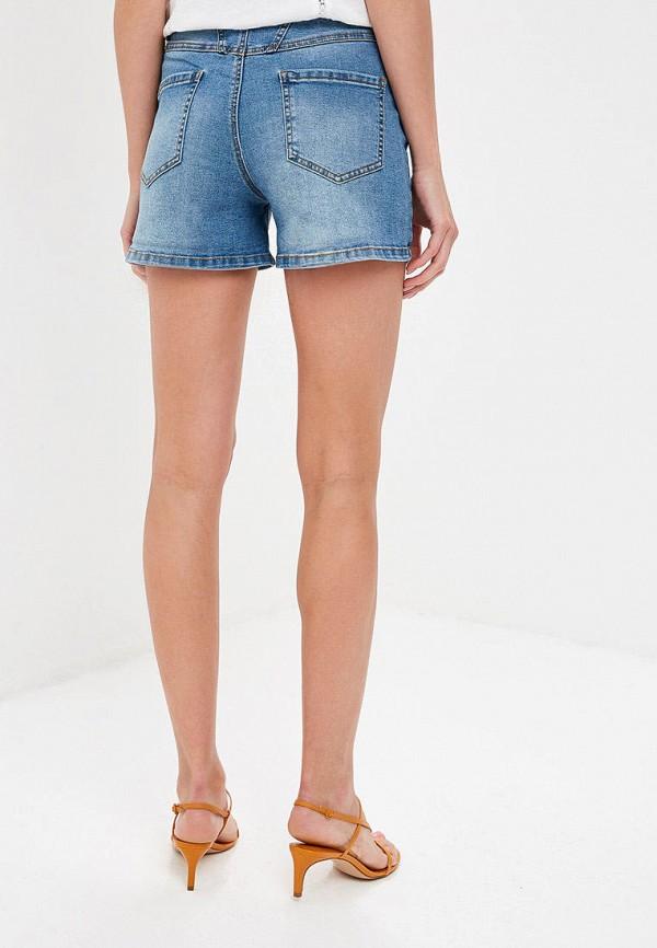 Фото 3 - Шорты джинсовые Baon голубого цвета
