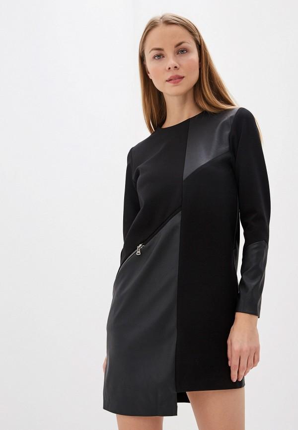 Фото - Женское платье Crocodile Coup черного цвета